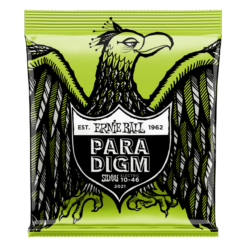 ENCORDOAMENTO ERNIEBALL GUITARRA .010 PARADIGM REGULAR SLINKY
