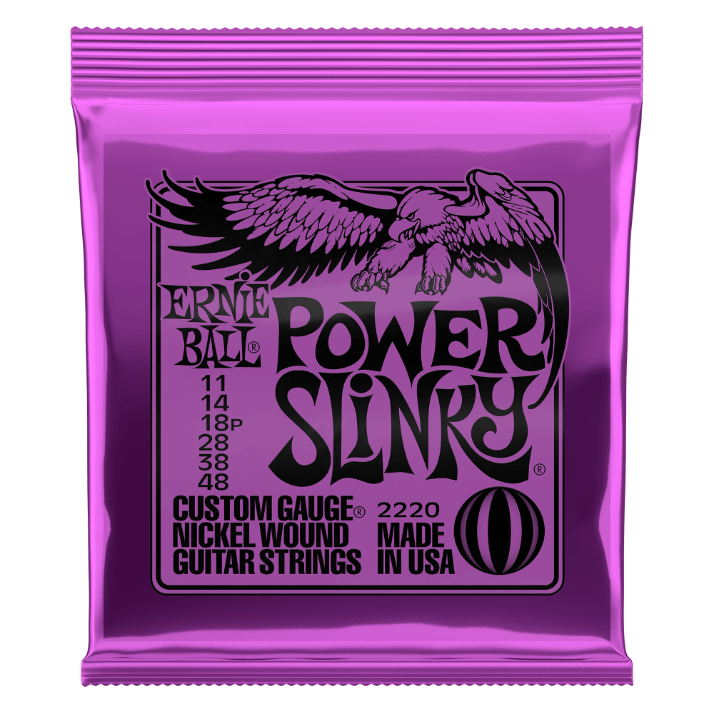 ENCORDOAMENTO ERNIEBALL GUITARRA .011 POWER SLINKY