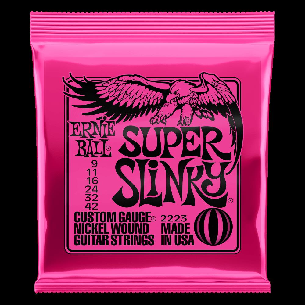 ENCORDOAMENTO ERNIEBALL SUPER SLINKY 009