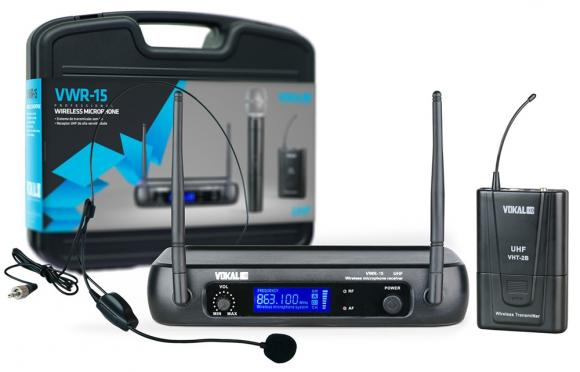 Microfone Vokal VWR15 Headset