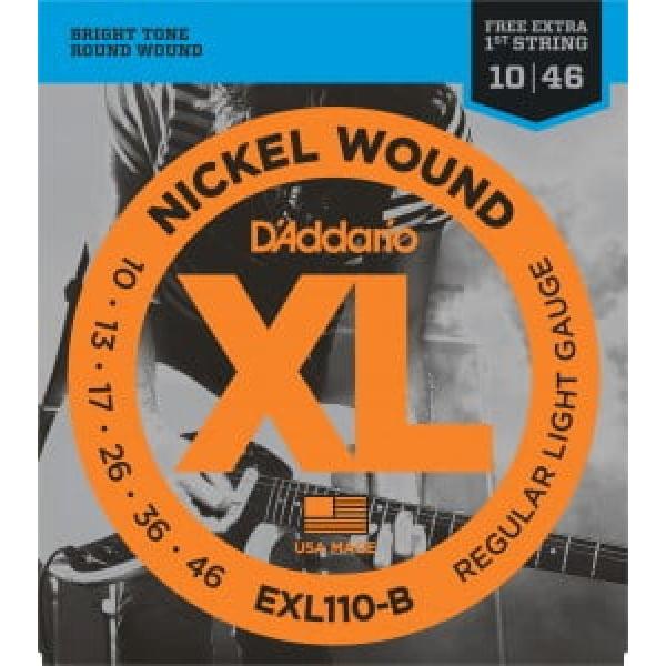 Encordoamento D'addario EXL110 Guitarra .010