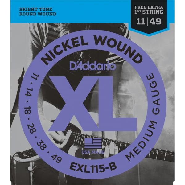 Encordoamento D'addario EXL115 Guitarra .011