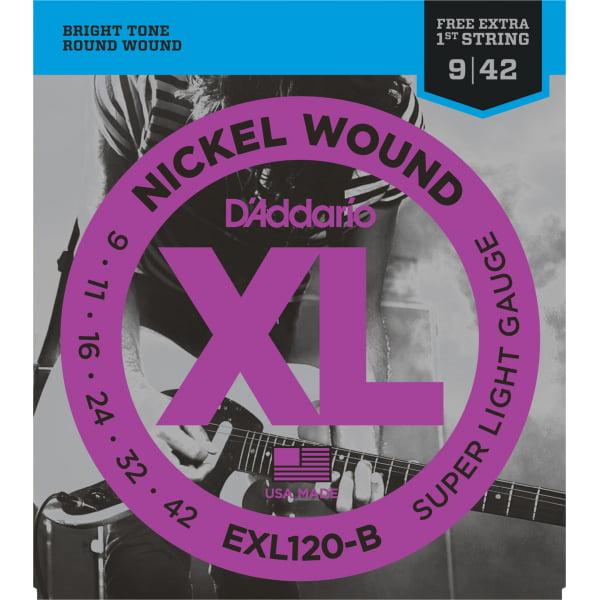 Encordoamento D'addario EXL120 Guitarra .009