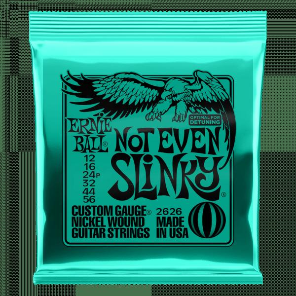 ENCORDOAMENTO ERNIEBALL GUITARRA .12 NOT EVEN SLINKY