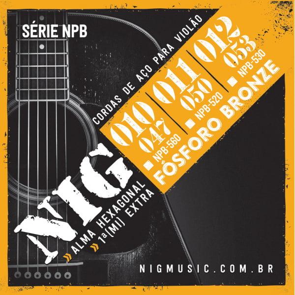 ENCORDOAMENTO NIG NPB520 FOSFORO BRONZE