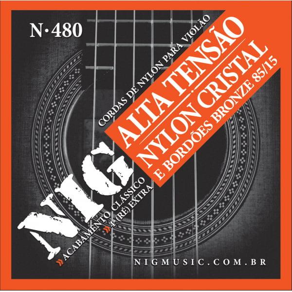 ENCORDOAMENTO NIG480 VIOLAO NYLON