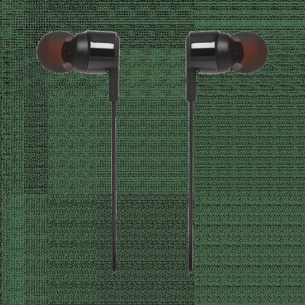 Fone de ouvido JBL TUNE 210 preto