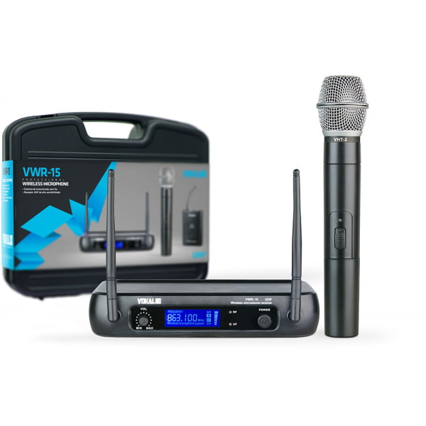 Microfone Vokal VWR15 de mão