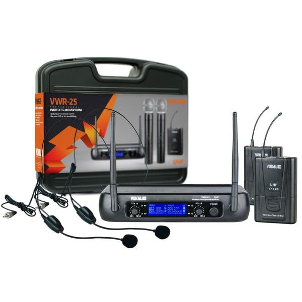 Microfone Vokal VWR25 Headset duplo
